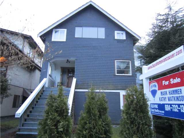 Main Photo: 192 W 12TH Avenue in Vancouver: Mount Pleasant VW House for sale (Vancouver West)  : MLS(r) # V874436
