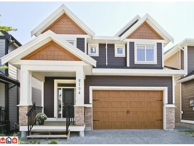 "Main Photo: 8104 211B ST in Langley: Willoughby Heights House for sale in ""YORKSON"" : MLS®# F1220820"