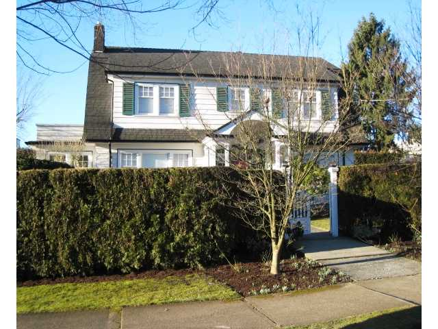 Main Photo: 302 FIFTH Street in New Westminster: Queens Park House for sale : MLS® # V1044865