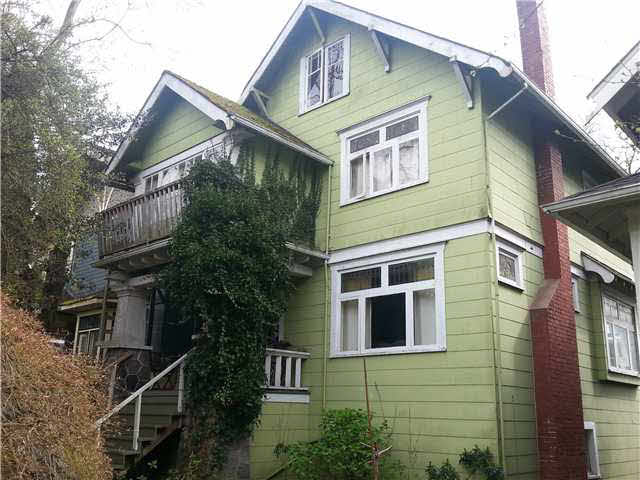 Main Photo: 3624 W 3RD Avenue in Vancouver: Kitsilano House for sale (Vancouver West)  : MLS® # V1114478