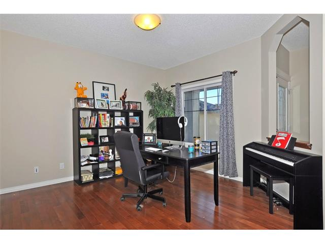 210 Tuscany Ravine Close NW - Flex room can be used as an office or dining room.  Calgary Real Estate