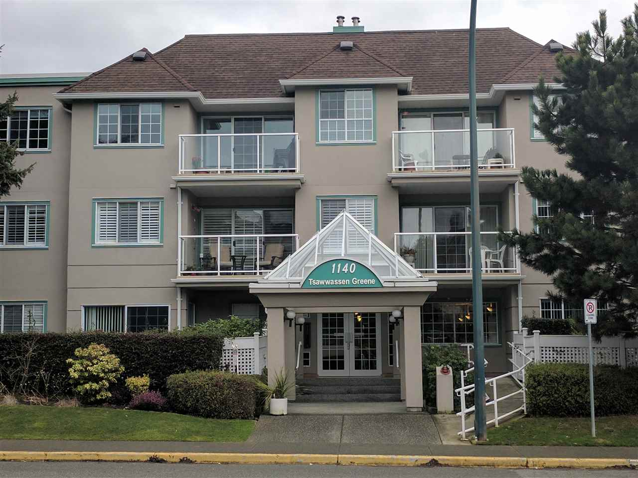 "Main Photo: 209 1140 55 Street in Delta: Tsawwassen Central Condo for sale in ""TSAWWASSEN GREENE"" (Tsawwassen)  : MLS®# R2149066"