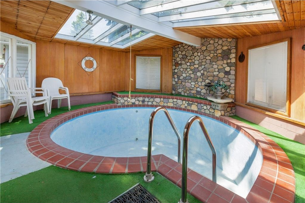 393 SQFT POOL ROOM ATTACHED TO THE HOUSE