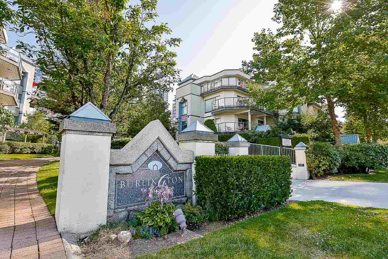 "Main Photo: 210 2968 BURLINGTON Drive in Coquitlam: North Coquitlam Condo for sale in ""THE BURLINGTON"" : MLS® # R2190339"
