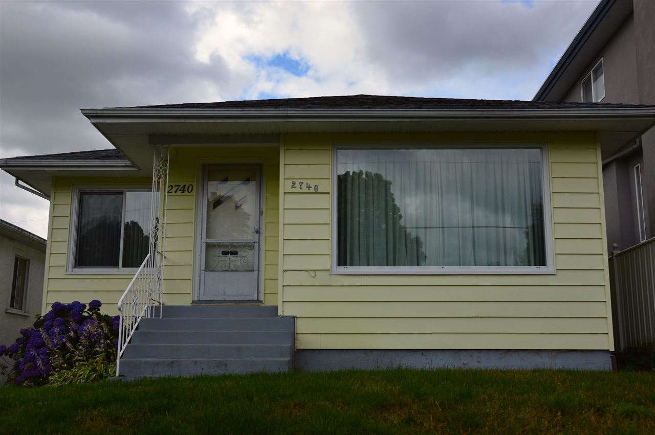 Main Photo: 2740 EUCLID Avenue in Vancouver: Collingwood VE House for sale (Vancouver East)  : MLS® # R2087418