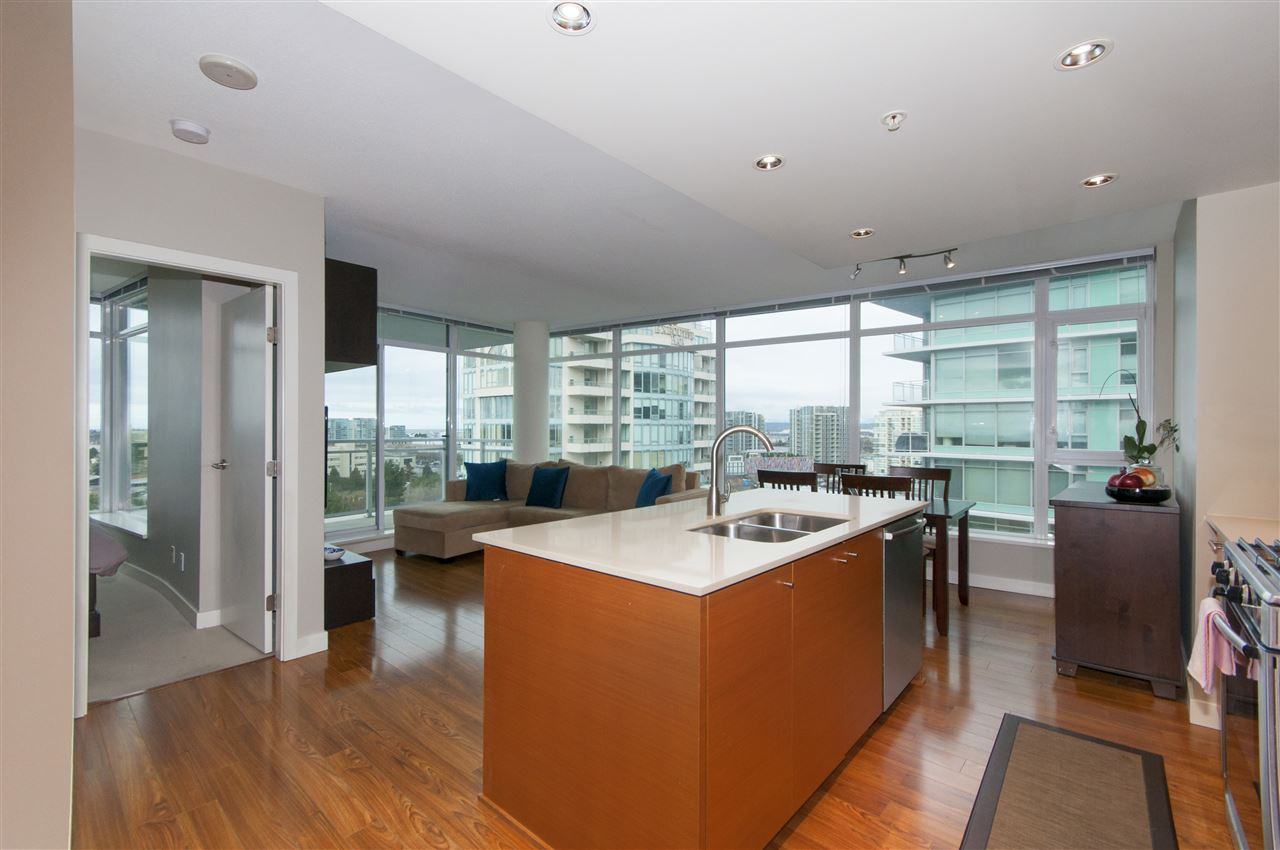 "Photo 2: 1503 7371 WESTMINSTER Highway in Richmond: Brighouse Condo for sale in ""Lotus"" : MLS® # R2135677"