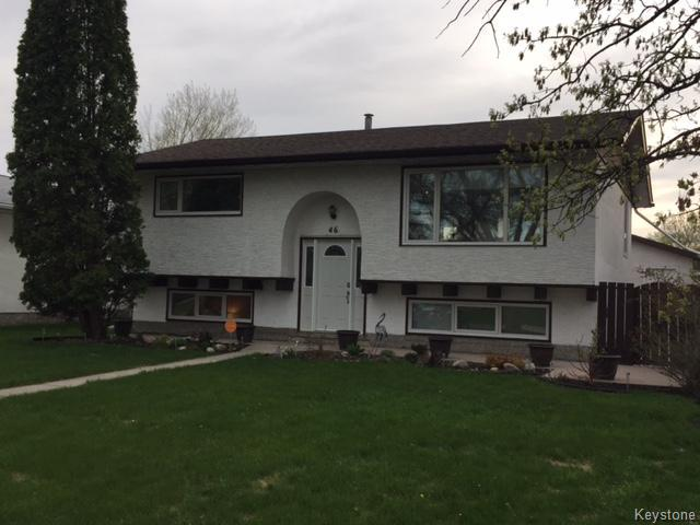 Main Photo: 46 Russenholt Street in Winnipeg: Crestview Residential for sale (5H)  : MLS® # 1712454