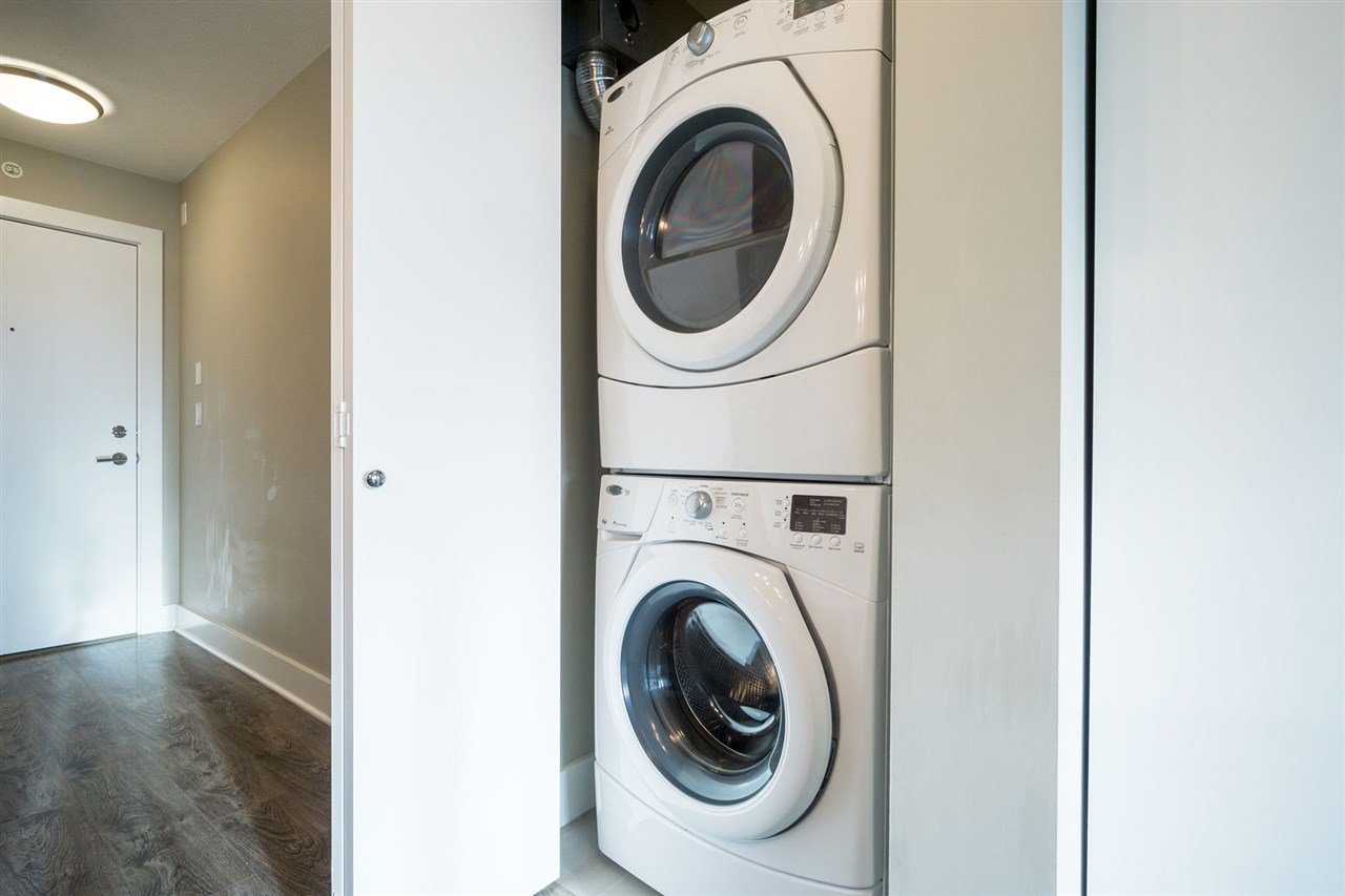 Live in Luxury at Aviara - In-suite laundry with large washing and driving machines