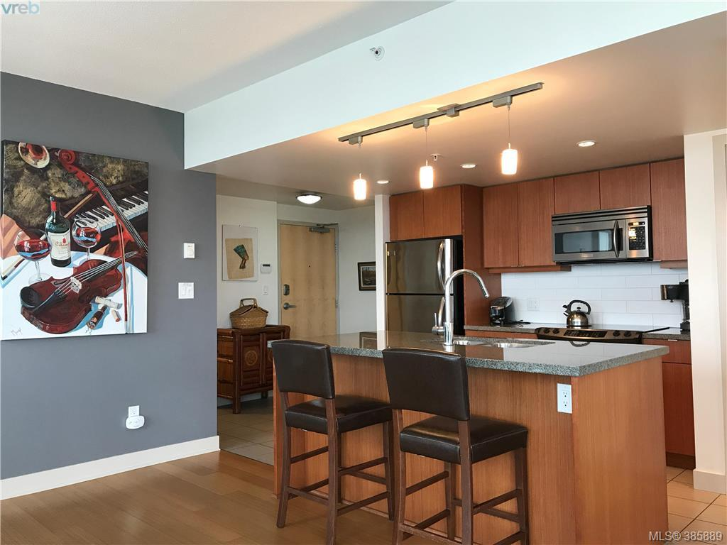 Main Photo: 1006 760 Johnson Street in VICTORIA: Vi Downtown Condo Apartment for sale (Victoria)  : MLS®# 385889