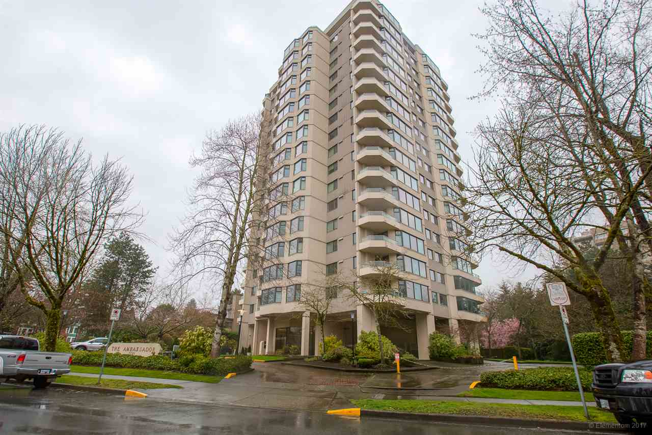 "Main Photo: 1801 7321 HALIFAX Street in Burnaby: Simon Fraser Univer. Condo for sale in ""THE AMBASSADOR"" (Burnaby North)  : MLS®# R2255065"