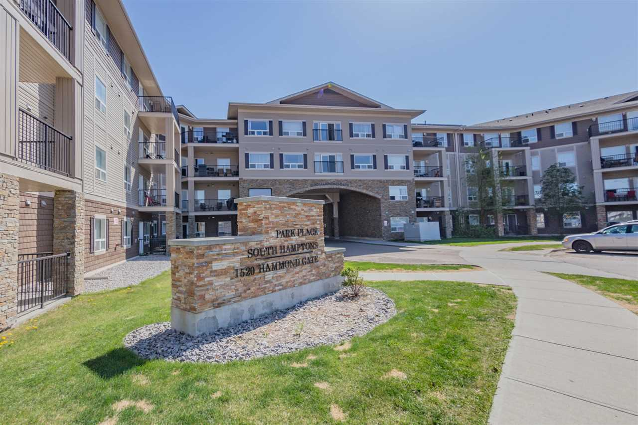 Main Photo: 445 1520 HAMMOND in Edmonton: Zone 58 Condo for sale : MLS®# E4111191
