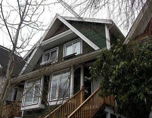 Main Photo: 1528 KITCHENER ST in Vancouver: Grandview VE House 1/2 Duplex for sale (Vancouver East)  : MLS® # V576070