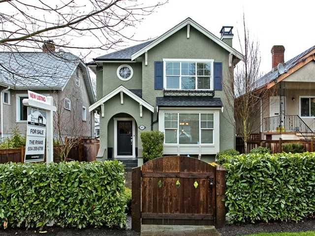Main Photo: 2455 CAMBRIDGE Street in Vancouver: Hastings East House for sale (Vancouver East)  : MLS® # V881459