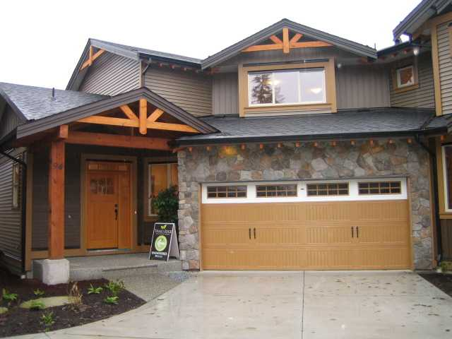 "Main Photo: 94 24185 106B Avenue in Maple Ridge: Albion Townhouse for sale in ""TRAILS EDGE"" : MLS® # V923155"