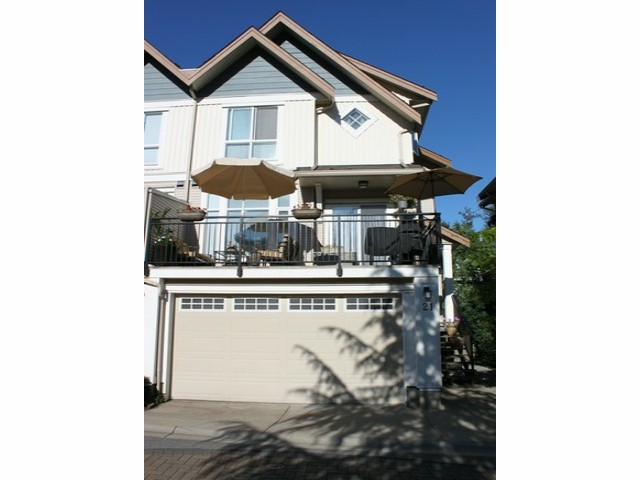 Main Photo: 21 20120 68 in Langley: Willoughby Heights Townhouse for sale : MLS®# F1316058