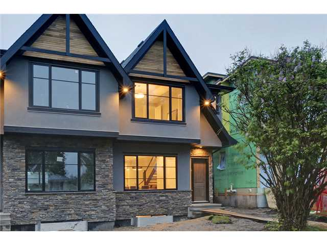 Main Photo: 2718 18 Street NW in CALGARY: Capitol Hill Residential Attached for sale (Calgary)  : MLS® # C3622368