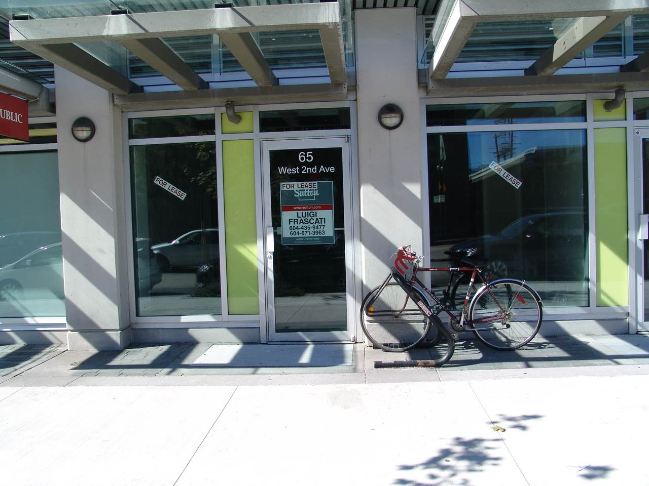 Main Photo: 65 W 2ND Avenue in Vancouver: False Creek Commercial for lease (Vancouver West)  : MLS®# C8007524