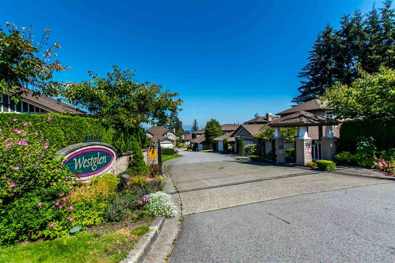 "Main Photo: 19 15151 26 Avenue in Surrey: Sunnyside Park Surrey Townhouse for sale in ""Westglen"" (South Surrey White Rock)  : MLS® # R2101497"