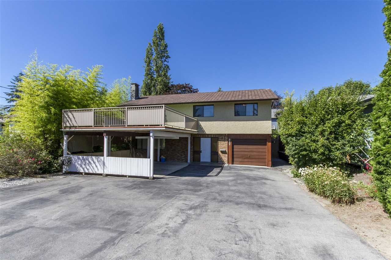 Main Photo: 839 COMO LAKE AVENUE in : Coquitlam West House for sale : MLS(r) # R2095919