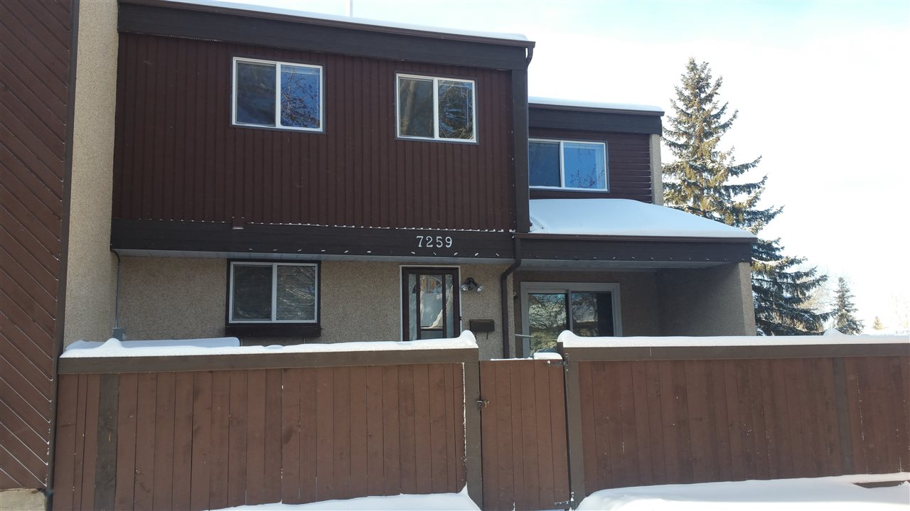 Main Photo: 7259 180 Street in Edmonton: Zone 20 Townhouse for sale : MLS(r) # E4047225