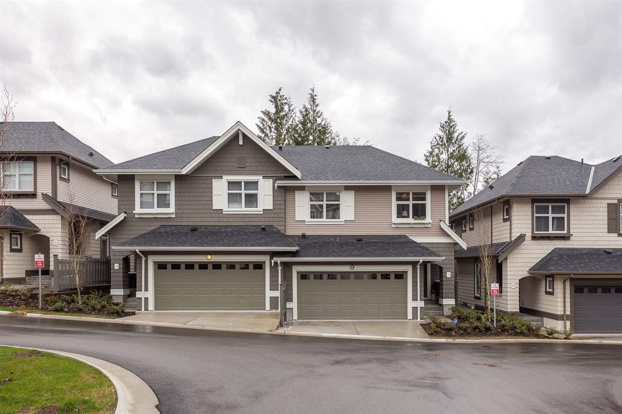 "Main Photo: 19 3400 DEVONSHIRE Avenue in Coquitlam: Burke Mountain Townhouse for sale in ""Colbone Lane Built by Polygon"" : MLS® # R2161337"