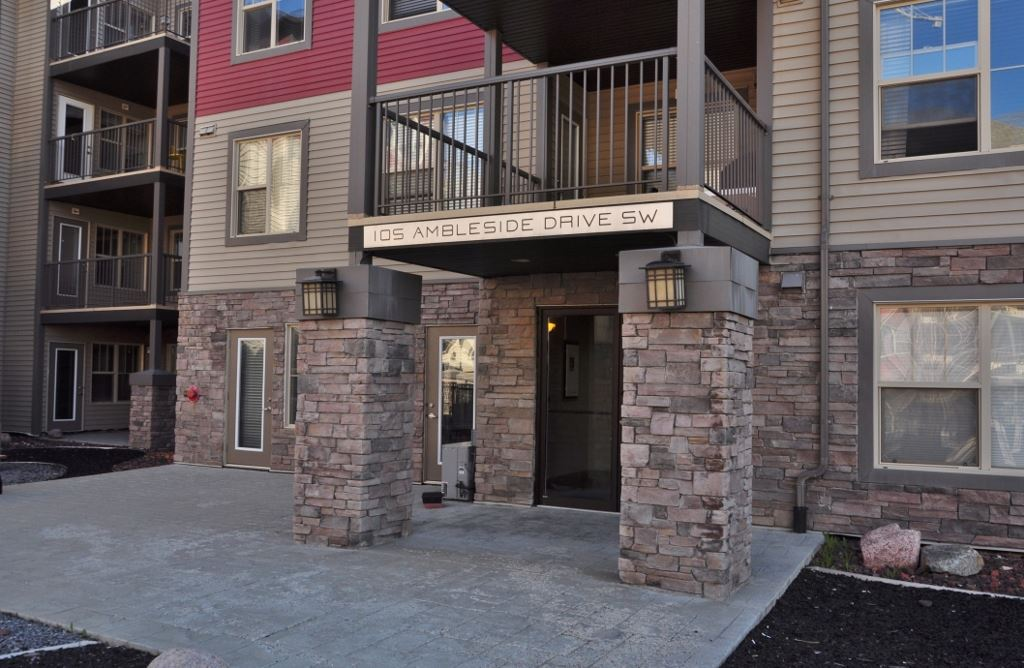 Photo 1: 114 105 AMBLESIDE Drive in Edmonton: Zone 56 Condo for sale : MLS(r) # E4062150
