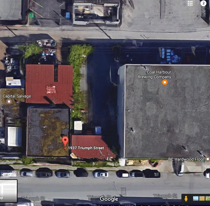 Satellite View of 6,000 SF Lot
