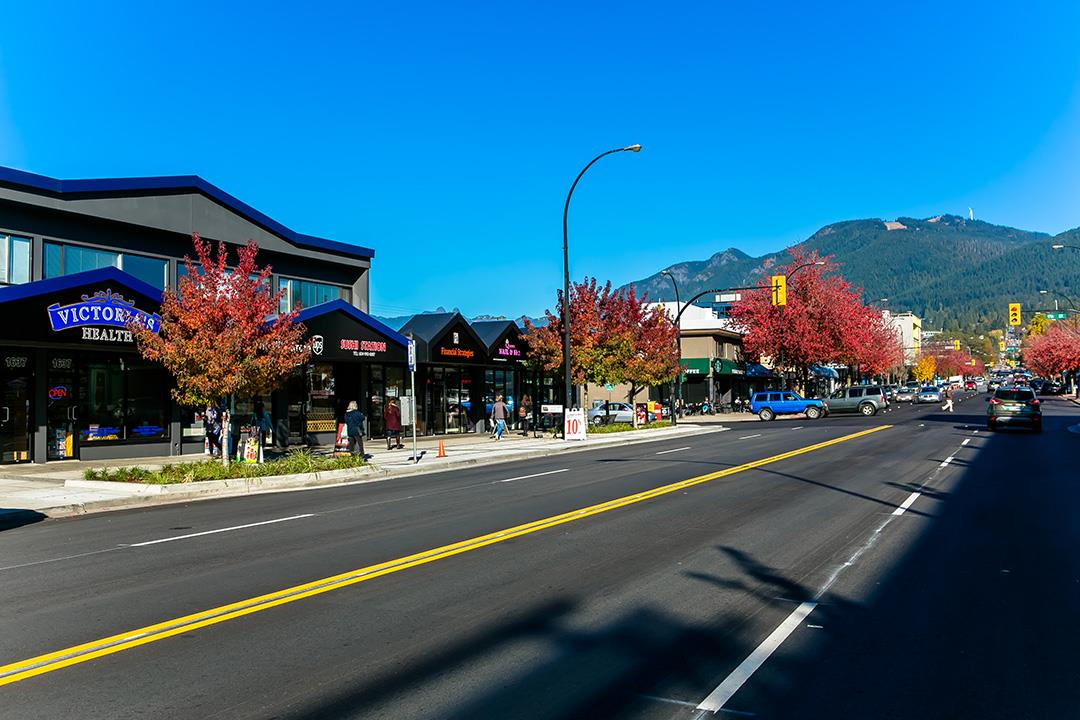 Walk to everything! Vibrant Lonsdale has all your shopping needs.
