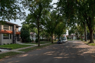 Located on a tree-lined street just minutes from DT Edmonton. Reach the core in 5 minutes by car or ride your bike!