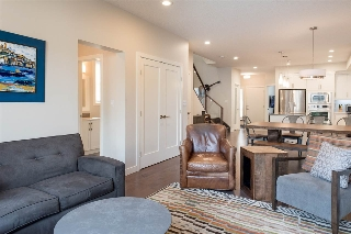 The open concept main floor is perfect for entertaining.
