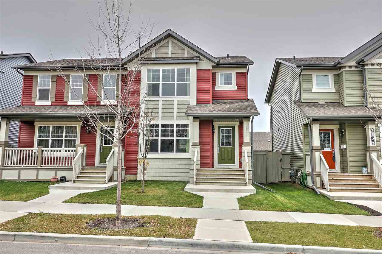 Main Photo: 2821 19 Avenue in Edmonton: Zone 30 House Half Duplex for sale : MLS® # E4085067