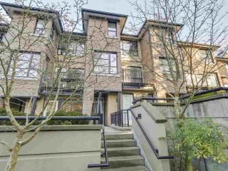 "Main Photo: 26 1863 WESBROOK Mall in Vancouver: University VW Townhouse for sale in ""ESSE"" (Vancouver West)  : MLS® # R2240051"