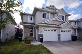 Main Photo: 37 115 Chestermere Drive: Sherwood Park House Half Duplex for sale : MLS®# E4119631
