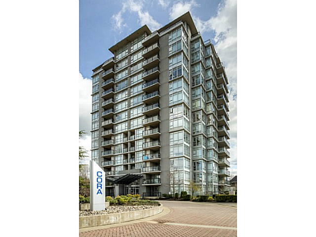 "Main Photo: 706 575 DELESTRE Avenue in Coquitlam: Coquitlam West Condo for sale in ""CORA"" : MLS® # V1056314"