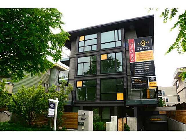 Main Photo: 301 562 E 7TH Avenue in Vancouver: Mount Pleasant VE Condo for sale (Vancouver East)  : MLS® # V1063806