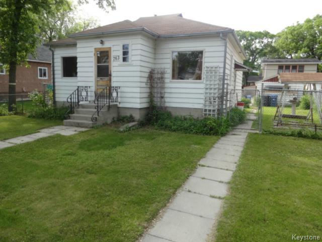 Main Photo: 763 Garwood Avenue in WINNIPEG: Manitoba Other Residential for sale : MLS® # 1414291