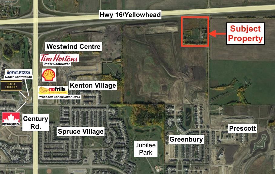 Main Photo: 53130 Rge Rd 271: Spruce Grove Land Commercial for sale : MLS® # E4002179