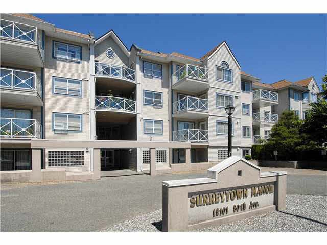 "Main Photo: 215 12101 80 Avenue in Surrey: Queen Mary Park Surrey Condo for sale in ""Surrey Town Manor"" : MLS® # R2143615"
