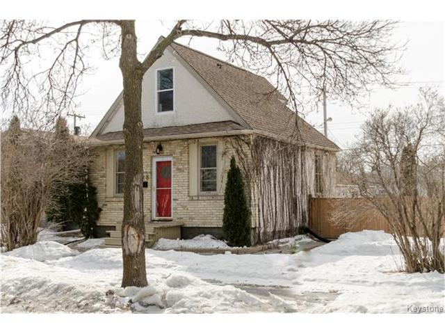 Main Photo: 326 Linden Avenue in Winnipeg: Residential for sale (3D)  : MLS® # 1705509