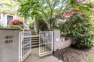 Main Photo: 1817 NAPIER Street in Vancouver: Grandview VE Townhouse for sale (Vancouver East)  : MLS® # R2169979