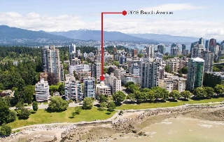 Main Photo: 402 2015 BEACH Avenue in Vancouver: West End VW Condo for sale (Vancouver West)  : MLS(r) # R2181068
