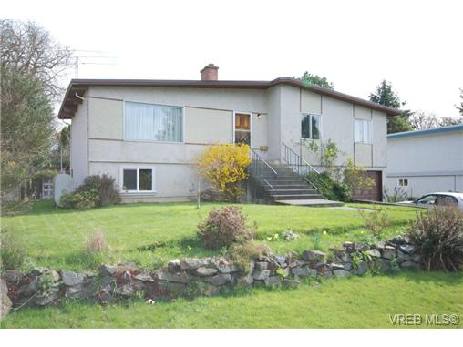 Main Photo: 4211 Panorama Drive in VICTORIA: SE High Quadra Single Family Detached for sale (Saanich East)  : MLS® # 335079