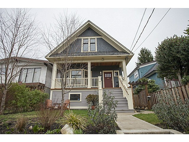 Main Photo: 1237 E 14TH Avenue in Vancouver: Mount Pleasant VE House for sale (Vancouver East)  : MLS®# V1104665