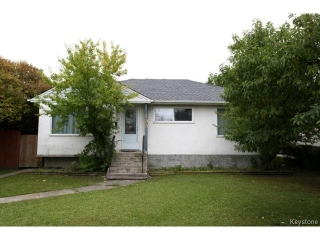 Main Photo: 100 Hull Avenue in WINNIPEG: St Vital Residential for sale (South East Winnipeg)  : MLS® # 1503406