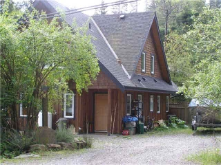 "Main Photo: 1332 EAGLE CLIFF Road: Bowen Island House for sale in ""EAGLE CLIFF"" : MLS®# V1121155"
