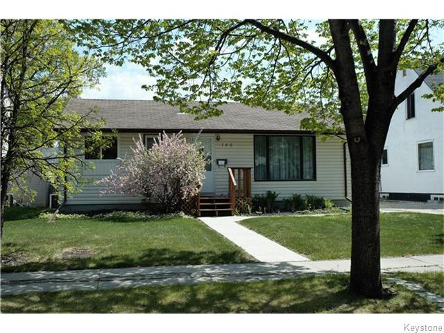 Main Photo: 150 Handyside Avenue in Winnipeg: St Vital Residential for sale (South East Winnipeg)  : MLS® # 1613560