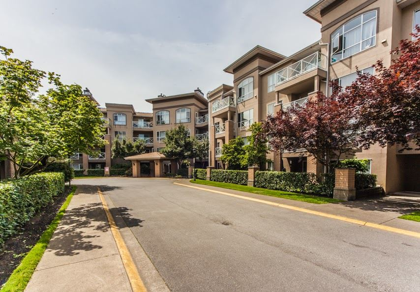 "Photo 1: 403 2559 PARKVIEW Lane in Port Coquitlam: Central Pt Coquitlam Condo for sale in ""THE CRESCENT ON REEVE CREEK"" : MLS® # R2078229"