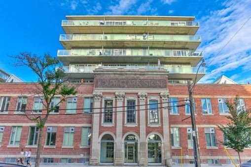Main Photo: 124 201 Carlaw Avenue in Toronto: South Riverdale Condo for sale (Toronto E01)  : MLS®# E3599061