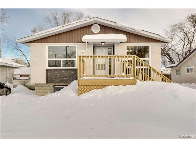 Main Photo: 417 Strathnaver Avenue in Selkirk: R14 Residential for sale : MLS® # 1701006