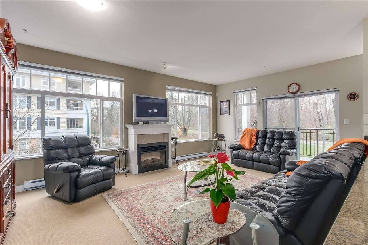 "Photo 2: 211 2353 MARPOLE Avenue in Port Coquitlam: Central Pt Coquitlam Condo for sale in ""EDGEWATER"" : MLS® # R2150448"